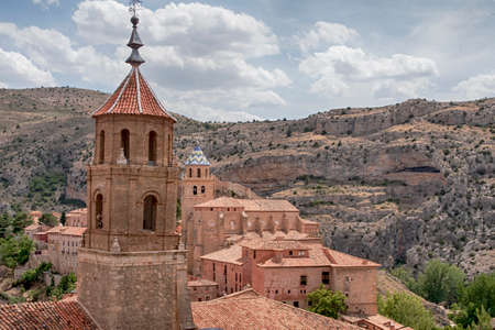 Beautiful villages in Spain, Albarracin in the province of Teruel