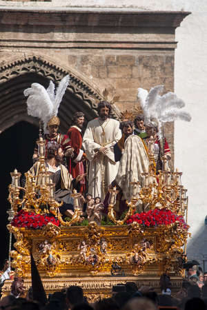 Brotherhoods of penance of Holy Week in Seville, El Carmen painful