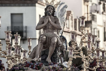 fraternidad: Jesus of the penalties of the Brotherhood of the Stars, Holy Week in Seville