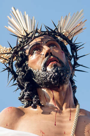 Jesus is stripped of His garments, Holy Week in Seville