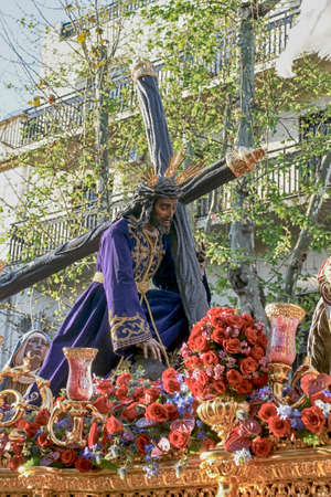 Holy Christ of the three falls of Triana, Holy Week in Seville