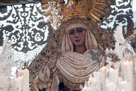 The Virgin of Hope of Triana, Holy Week in Seville