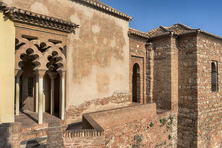 Monuments in Andalusia, the Alcazaba of Malaga