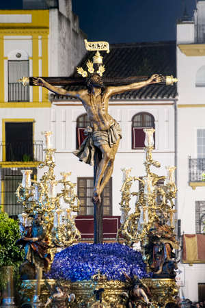 Step of mystery of the Brotherhood of the Museum, Semana Santa in Seville