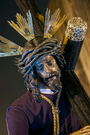 Procession of Jesus of the Great Power in the Holy Week in Seville