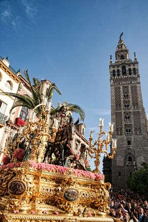 Brotherhood of the Borriquita, Holy Week in Seville