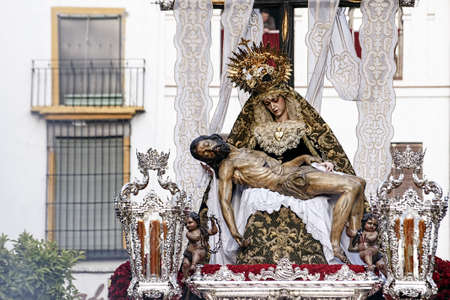 Brotherhood of the Servites, Easter in Seville