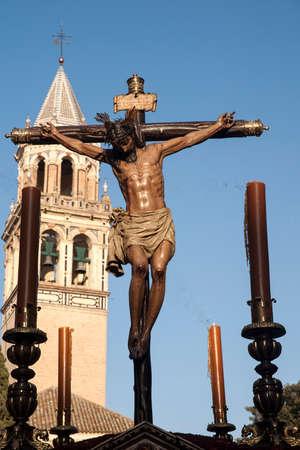 Burgos brotherhood of Christ, Holy Week in Seville
