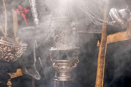 Holy Week in Seville, incense