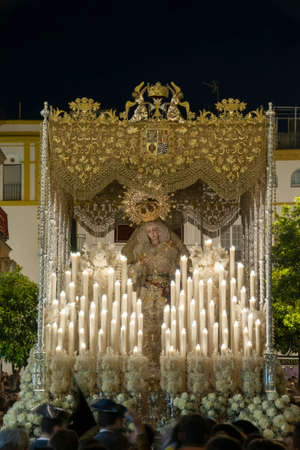 Our Lady of the Rosary of Montesion, Holy Week in Seville