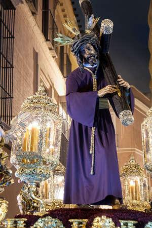 Procession of Jesus del Gran Poder in Holy Week in Seville