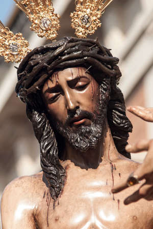 step of mystery of the brotherhood of San Benito, Holy Week in Seville Editorial