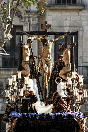 Procession of the brotherhood of the carreter?a, Holy Week in Seville