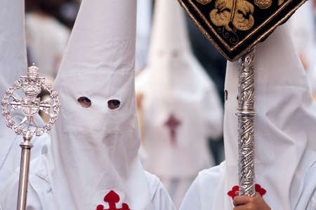 rites: Brothers Nazarenes of Holy Week in Seville