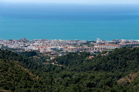 views of the municipality of Marbella on the Costa del Sol, Malaga Stock Photo
