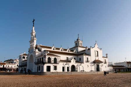 Hermitage of El Rocio in the province of Huelva Editorial