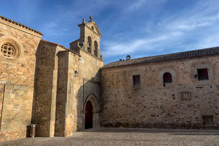 seniority: Beautiful medieval city of Caceres in Extremadura Stock Photo
