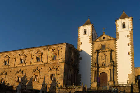 Beautiful medieval city of Caceres in Extremadura Stock Photo