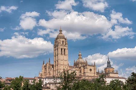 Santa Maria Cathedral in Segovia, Spain