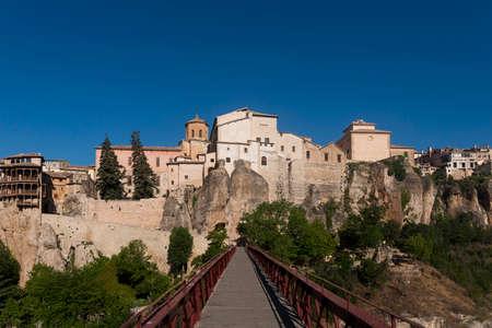 seniority: Medieval cities of Spain, Cuenca in the autonomous community of Castilla la Mancha Stock Photo