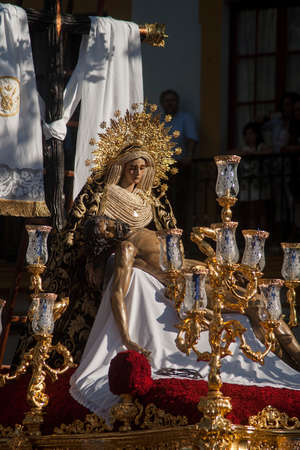 images of the holy week of Seville, brotherhood of the Baratillo