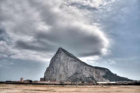 ロックオブ ジブラルタル 写真素材