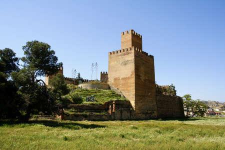 Alcazaba de Guadix in the province of Granada, Andalusia