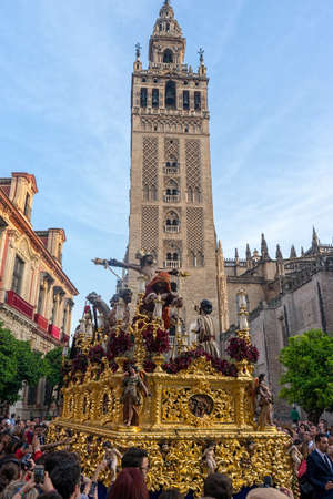 Christ of the brotherhood of the exaltation, Holy Week in Seville