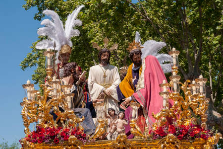 Brotherhood of the painful Carmen, Holy Week in Seville