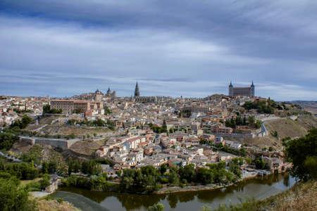 Monumental city of Toledo, Spain