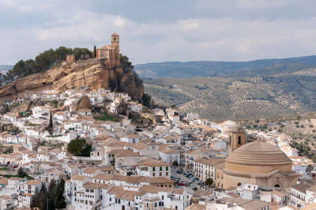 Villages of Andalusia, Montefrio in the province of Granada Reklamní fotografie