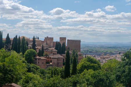 Alhambra of Granada, Spain Éditoriale