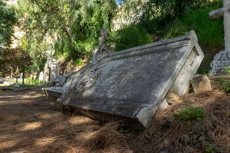 Old English Cemetery in the province of Malaga Banco de Imagens