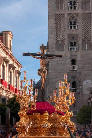Brotherhood of Thirst, Holy Week in Seville, Jesus on the Cross