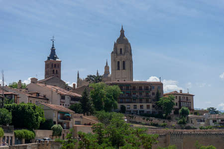 Cathedral of Santa Maria in Segovia, Spain