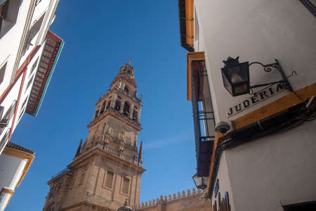 streets of the historic center of the city of Cordoba, Andalusia