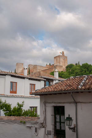 City of Granada, the Alhambra Banque d'images