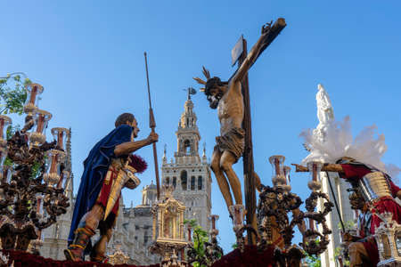 Holy Week in Seville, Christ of the helplessness and Abandonment of the Brotherhood of the Eagle Hill