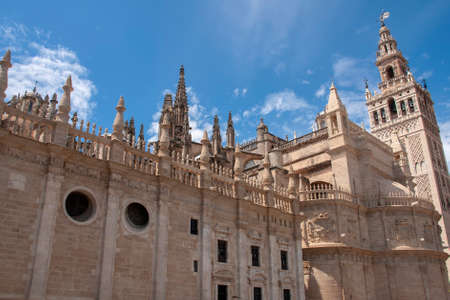 Metropolitan Cathedral of Santa Mara of the headquarters in the city of Seville, Andalusia