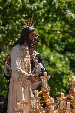 Confrérie du Baiser de Judas, Semaine Sainte de Séville
