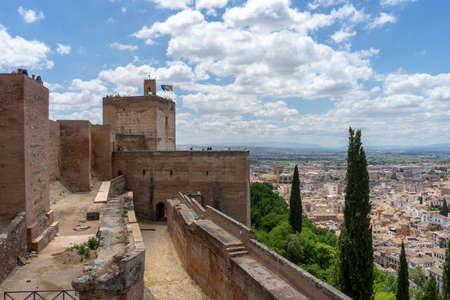 Alhambra of Granada, Spain Imagens