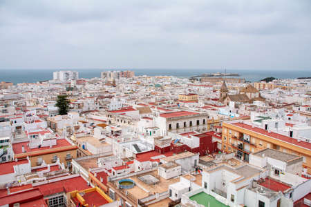 Views of the city of Cadiz, Andalusia