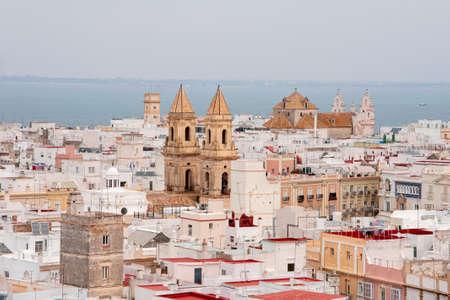 Views of the city of Cadiz, Andalusia Imagens