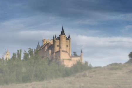 Monuments in Spain, the Alcazar of Segovia Editorial