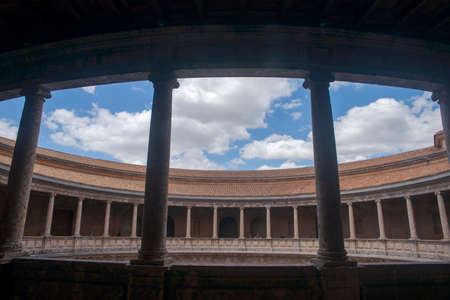 Palace of Carlos V, Museum of the Alhambra in Granada, Andalusia