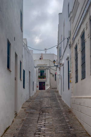 Beautiful village of Andalusia, Vejer de la Frontera in Cadiz province