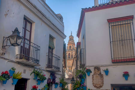 Stroll through the historic center of the city of Cordoba, Andalucia Stock Photo