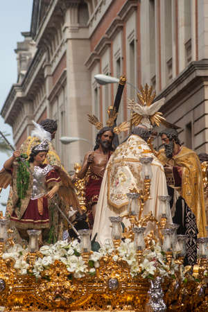 brotherhood of the trinity, mystery of the decree, holy week of Seville