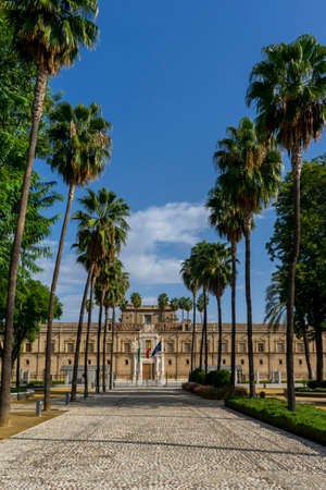 Former Five Wounds Hospital and seat of the Andalusian Parliament. Seville