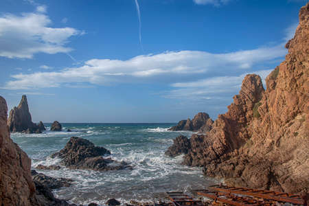 The sirens reef in the Natural Park Cabo de Gata